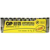 《GP》超霸超級碳鋅電池(3號-12入)