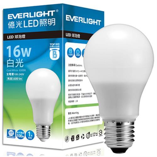 《億光》LED燈泡(16W-白光)