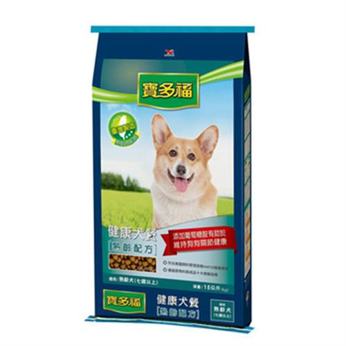 寶多福 健康犬餐(熟齡犬15kg/袋)