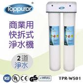 《【泰浦樂 Toppuror】》商業用快拆飲淨水機(2道)