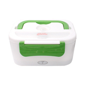 車用電子加熱保溫便當餐盒(綠)