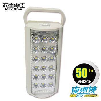 太星電工 夜巡俠超亮LED充電式照明燈(IF600)