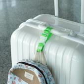 《Jtourist》韓版馬卡龍色行李箱包多功能掛扣(亮綠)