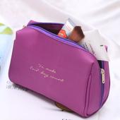 《Jtourist》韓版簡約時尚輕巧化妝包/手拿包/小物袋(深藍)