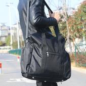 《Jtourist》多功能耐磨耐用可肩背手提旅行袋/收納袋(黑)