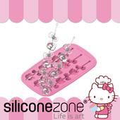 《Siliconezone》施理康 Hello Kitty 多用途耐熱矽膠冰棒/巧克力模