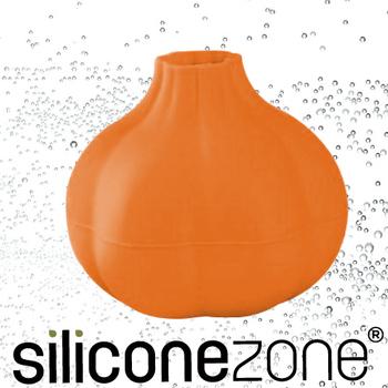 Siliconezone 施理康不沾手便利矽膠蒜頭剝皮器(橘色)
