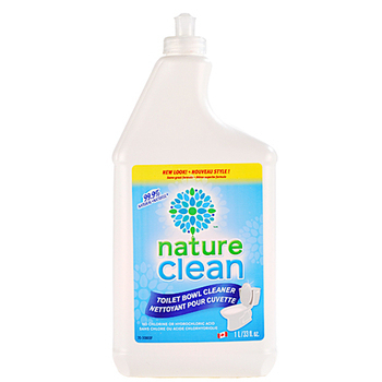 綠易潔nature clean 加拿大 環保馬桶清潔劑