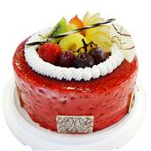《台灣鑫鮮》酸甜 覆盆子7吋 蛋糕(3天內到貨)