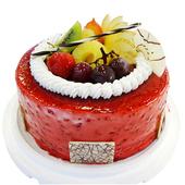 《台灣鑫鮮》酸甜 覆盆子5吋 蛋糕(3天內到貨)