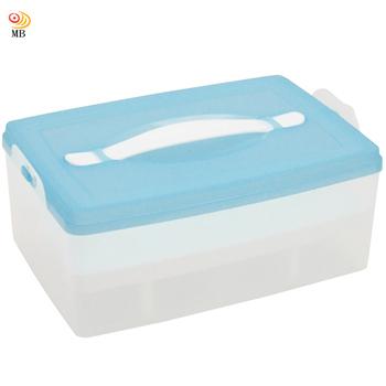 ★結帳現折★月陽 大容量24入雞蛋蛋糕點心保鮮盒(C335)