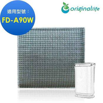 綠能環控清淨網 長效可水洗★ 超淨化空氣清淨機濾網 適用3M:FD-A90W雙效空氣清淨除濕機