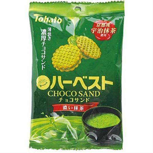 日本 巧克力三明治餅乾-抹茶口味(38g)