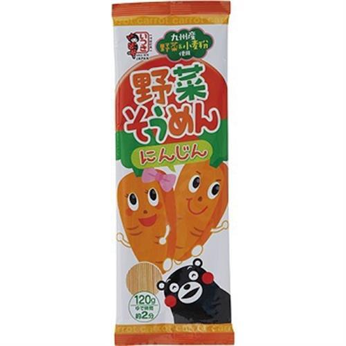 日本 熊本蔬菜麵(紅蘿蔔-120g)