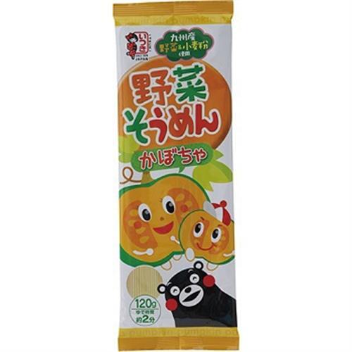 日本 熊本蔬菜麵(南瓜-120g)