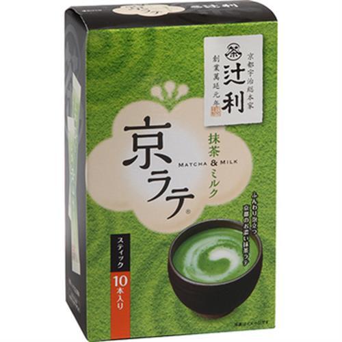 日本?利 抹茶牛奶粉 抹茶拿鐵(10入,140g/盒)