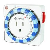 《KINYO》24 Hour 多時段定時器TM-2