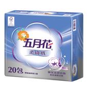 《五月花》柔織感抽取式衛生紙100抽*20包 $220