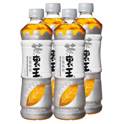 統一 茶裏王白毫烏龍茶(600mlx4瓶/組)