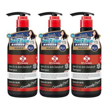 《台塑生醫》控油抗屑洗髮精升級版(激涼款)580g*3入