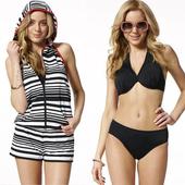 《SAIN SOU》大女 比基尼 三件式 泳裝/泳衣-附泳帽A93501(M)