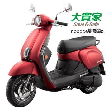 KYMCO光陽機車 NEW Many 110旗艦版noodoe車聯網-2017全新車(SE22CC)(麗澤紅)