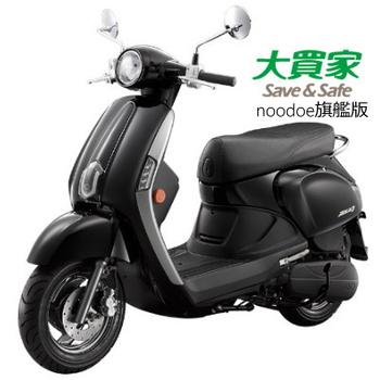 KYMCO光陽機車 NEW Many 110旗艦版noodoe車聯網-2017全新車(SE22CC)(黑)