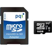《PQI》microSD U1 C10 16G 高速記憶卡