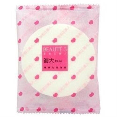 永和三美人 海大414化妝用海綿(80mm+)