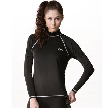 《SAIN SOU》抗UV防水母螫咬半身 女 水母衣C0090-01(S)
