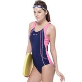 《SAIN SOU》泡湯游泳SPA連身三角 女 泳裝/泳衣-附泳帽A91607-02M $1088