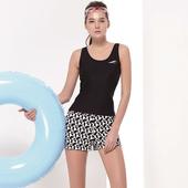 《SAIN SOU》泡湯游泳SPA女 二件式 泳裝/泳衣-附泳帽A92636(M)下單即贈襪子2雙,同訂單滿800再送冰涼巾