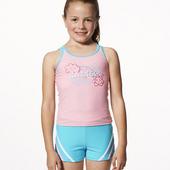 《SAIN SOU》MIT女童 兩件式 泳裝/泳衣-附泳帽A82505(8)