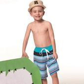 《SAIN SOU》泡湯SPA兒童 海灘 泳褲-附泳帽A65603(12)