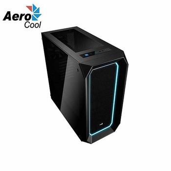 《Aero cool》P7-C0 雙面強化玻璃機殼