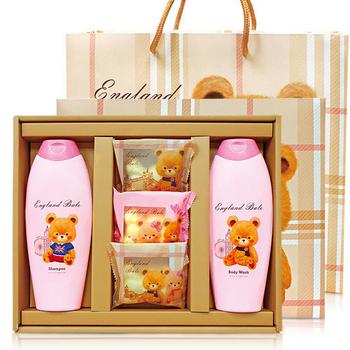 ★結帳現折★英國貝爾 香氛SPA禮盒-1洗1沐3皂(含紙袋)