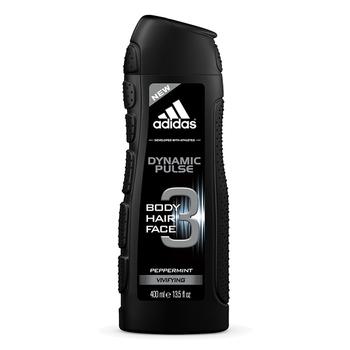 《adidas愛迪達》adidas愛迪達 男用三效潔顏洗髮沐浴露(青春活力)400ml