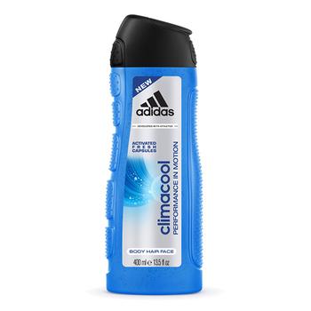 《adidas愛迪達》adidas愛迪達 男用三效動感香氛潔顏洗髮沐浴露 400ml