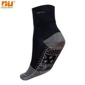 《恩悠數位》NU 能量無痕襪(白色 L 25~29cm)