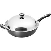 《鍋寶》超硬陽極合金炒鍋(37cm)