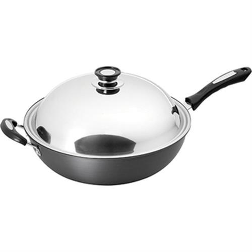 鍋寶 超硬陽極合金炒鍋(37cm)