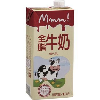 法國MMM! 全脂牛奶(1L)