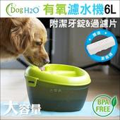 《H2O》寵物有氧濾水機(6L)