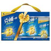 《克補鋅》完整維他命B群禮盒(共180錠)-男性適用