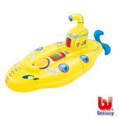 《艾可兒》Bestway兒童充氣 潛水艇 造型坐騎 游泳圈