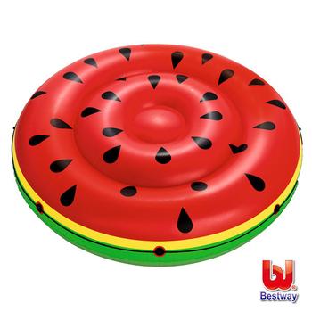 《艾可兒》Bestway西瓜 雙人 水上充氣浮排/浮床/氣墊 游泳圈43140