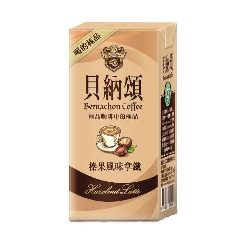 貝納頌 咖啡-榛果風味(375ml*24包/箱)