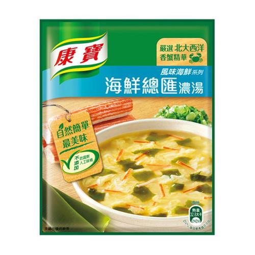 《康寶》自然原味海鮮總匯濃湯(38.3gx2包/組)