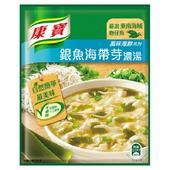 《康寶》自然原味銀魚海帶芽濃湯(37gx2包/組)