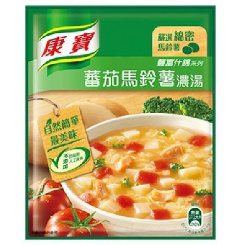 《康寶》自然原味蕃茄馬鈴薯濃湯(41.4gx2包/組)
